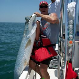 Tarpin fishing in boca grande