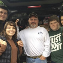 Family hunting trip