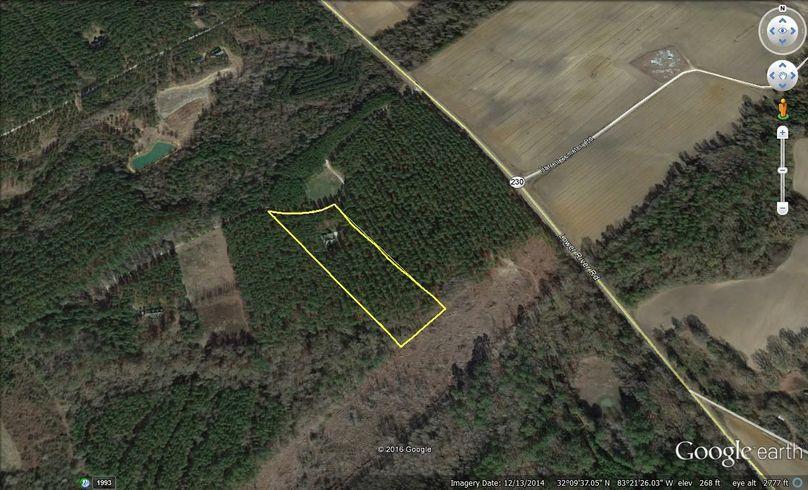 Pulaski county 5 acres w house makowski map