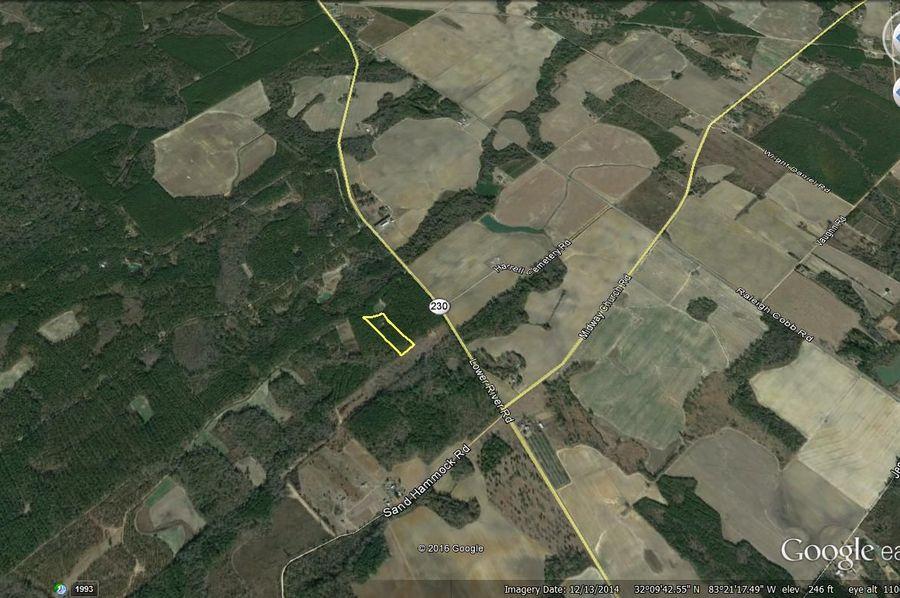 Pulaski county 5 acres w house makowski map1
