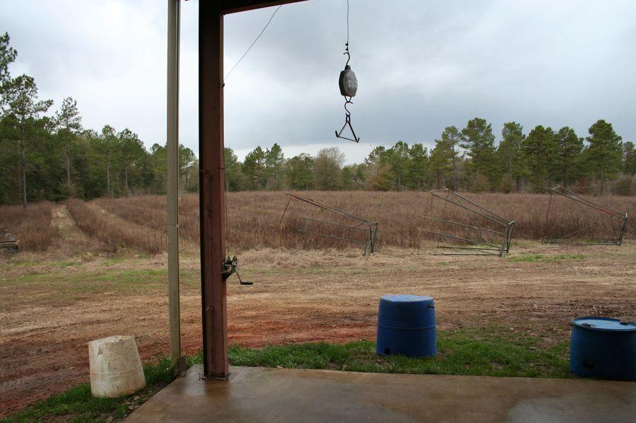 38 hanging pole