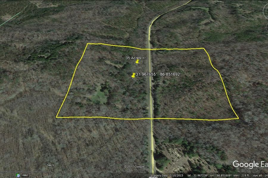 Aerial 5 approx. 35 acres lowndes county, al
