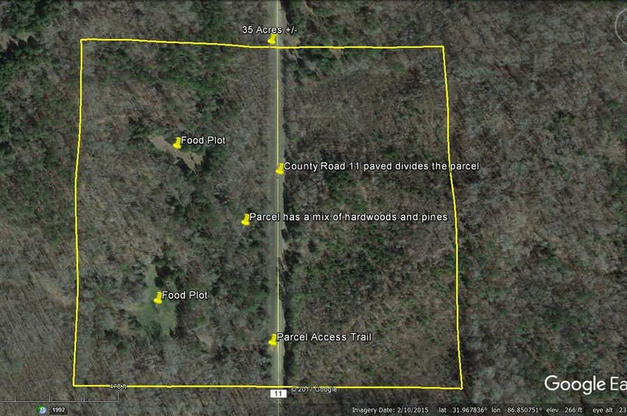 Aerial 6 approx. 35 acres lowndes county, al