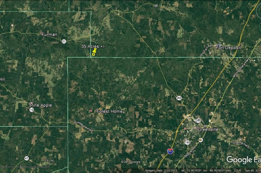 Aerial 7 approx. 35 acres lowndes county, al