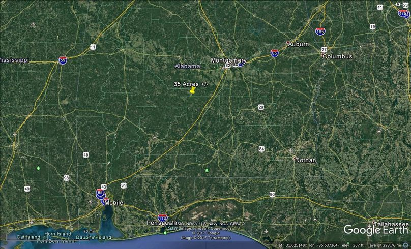 Aerial 8 approx. 35 acres lowndes county, al