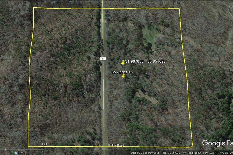 Aerial 3 approx. 35 acres lowndes county, al