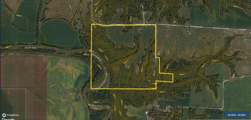 Fulton 167 contour