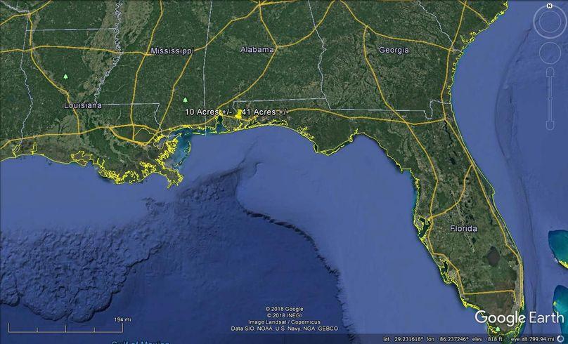 Aerial 10 approx. 51 acres baldwin county, al