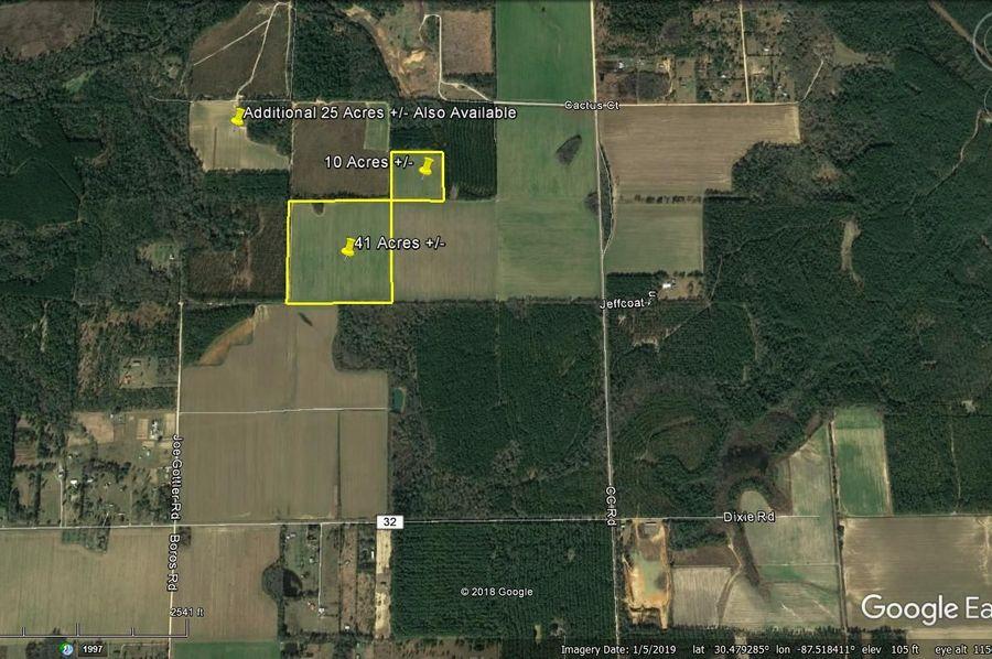 Aerial 11 approx. 51 acres baldwin county, al