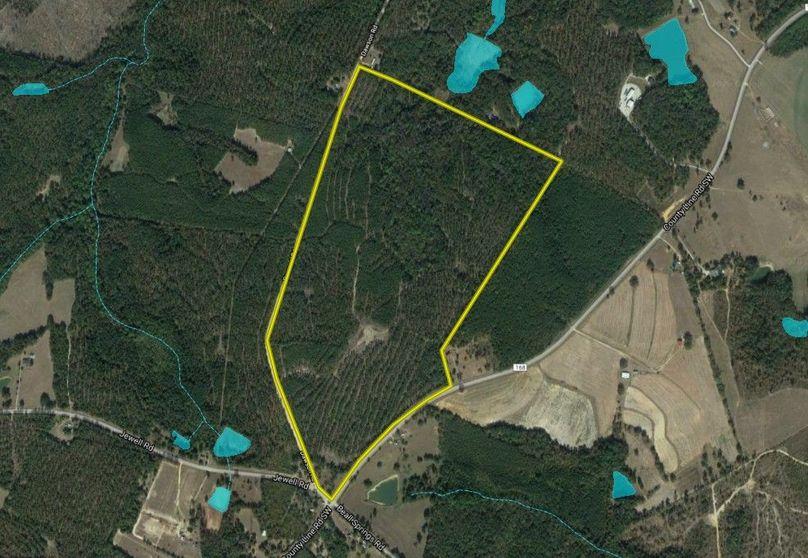 Warren county 153.38 acres map