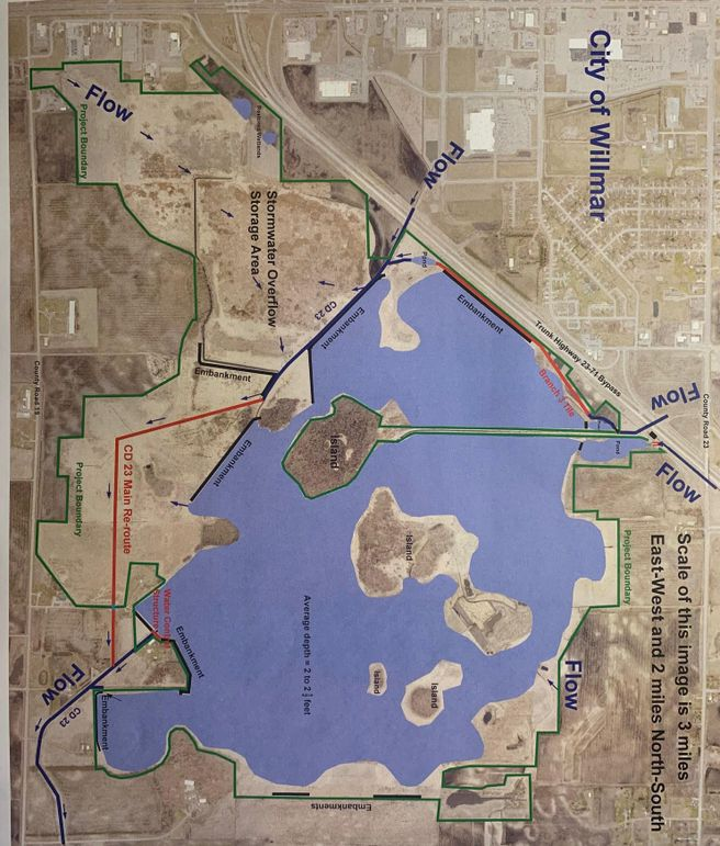 25- overall grass lake project area