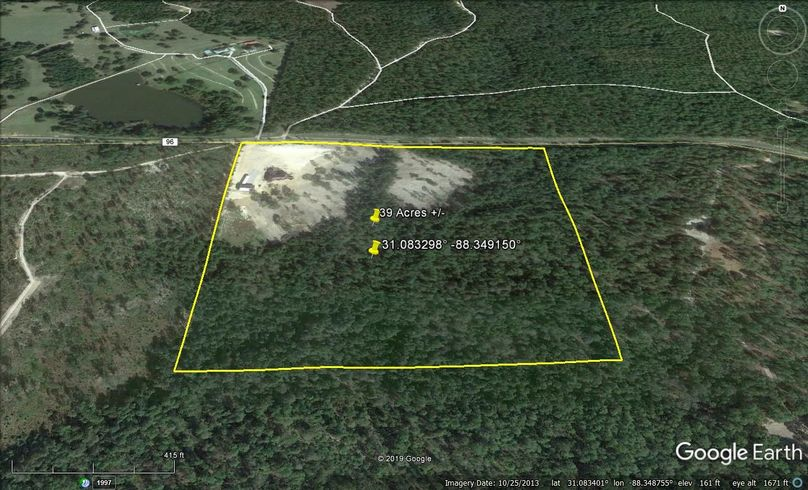 Zaerial 2 approx. 39 acres mobile county, al
