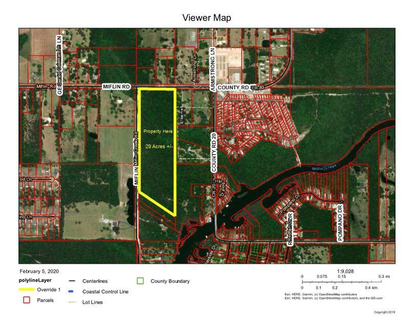 Aerial 1 approx. 29 acres baldwin county, al