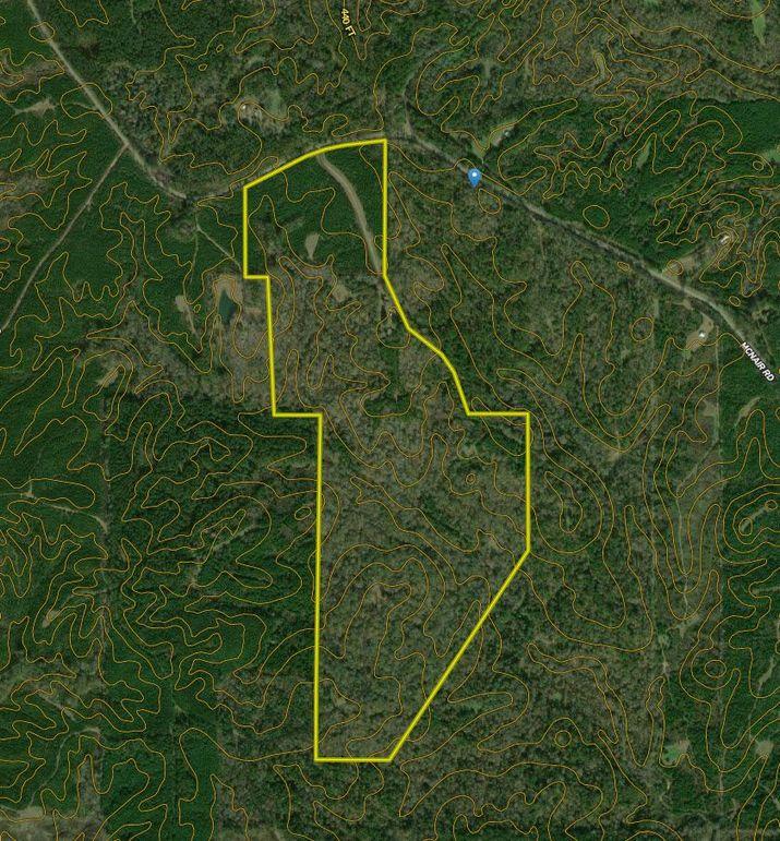 Z198.79 franklin co. contour map