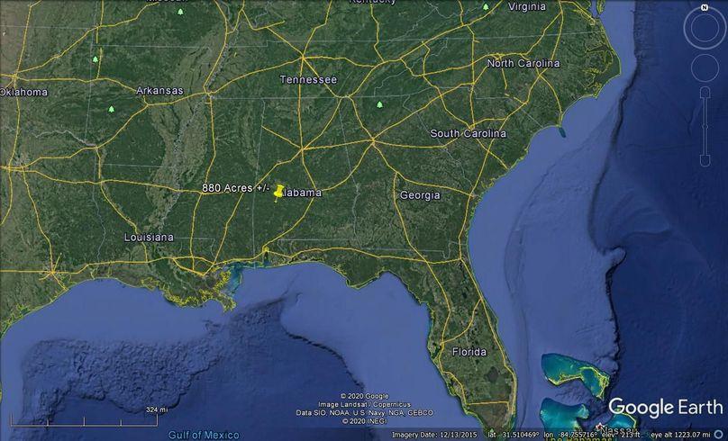 Aerial 12 approx. 880 acres marengo county, al