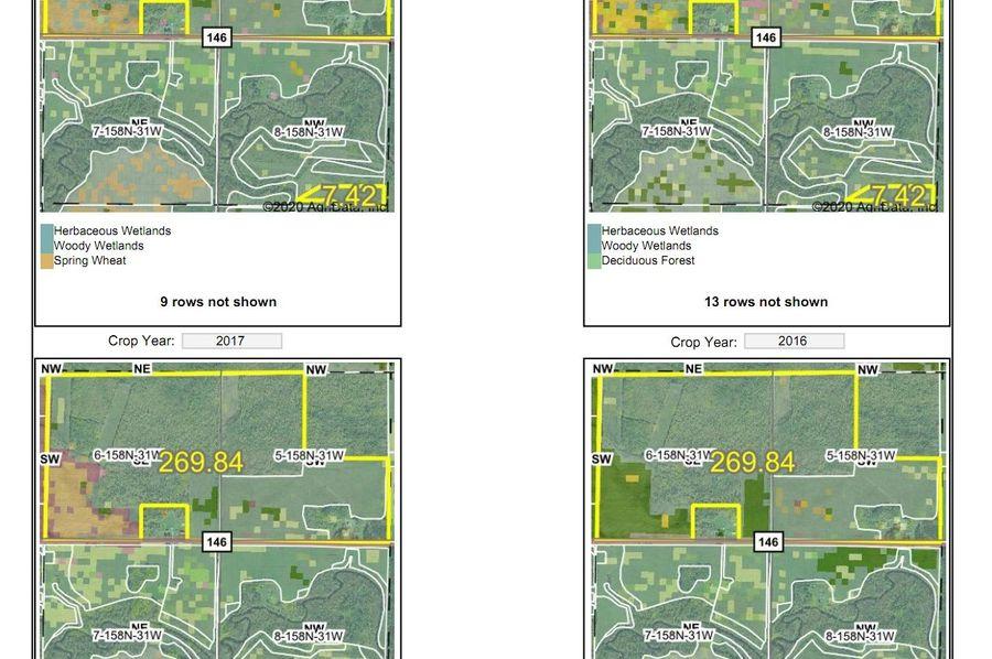 Low 270 crop history