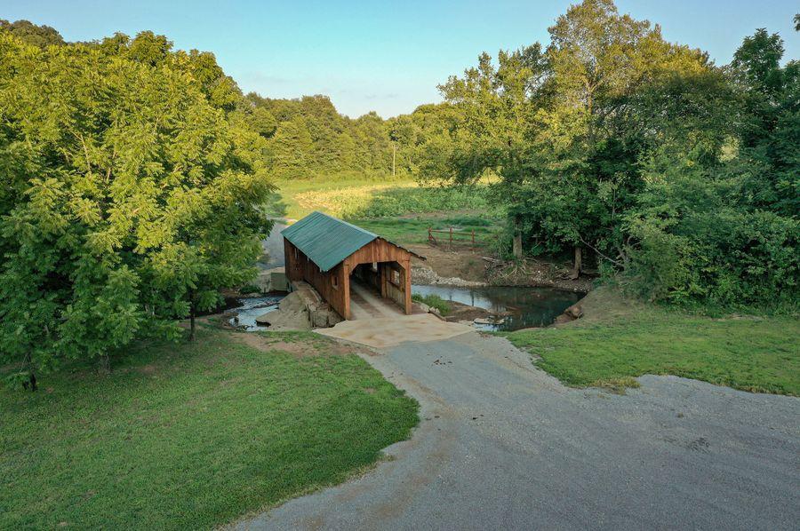 6 bridge view aerial view