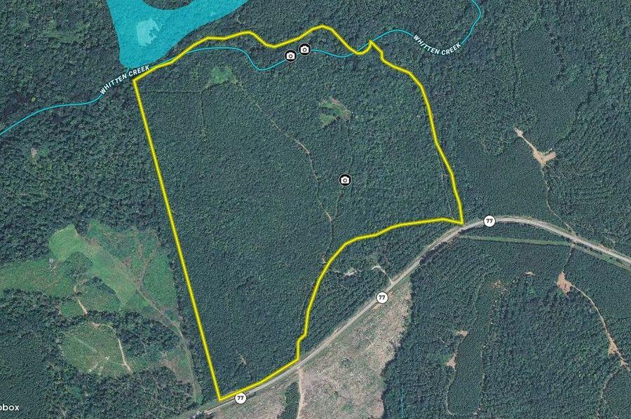 Hancock county 129.14 acres map