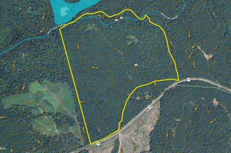Hancock county 129.14 acres map1