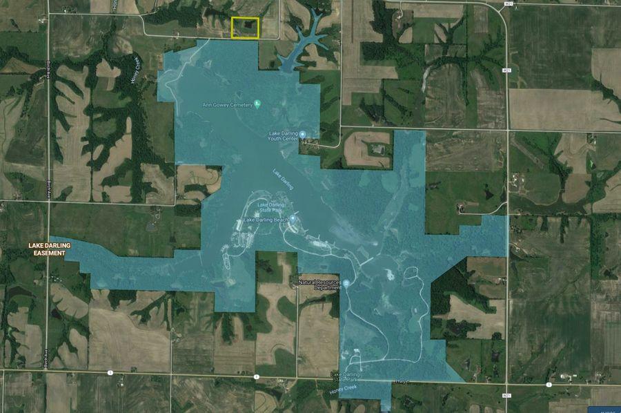 Ia washington 12 lake map