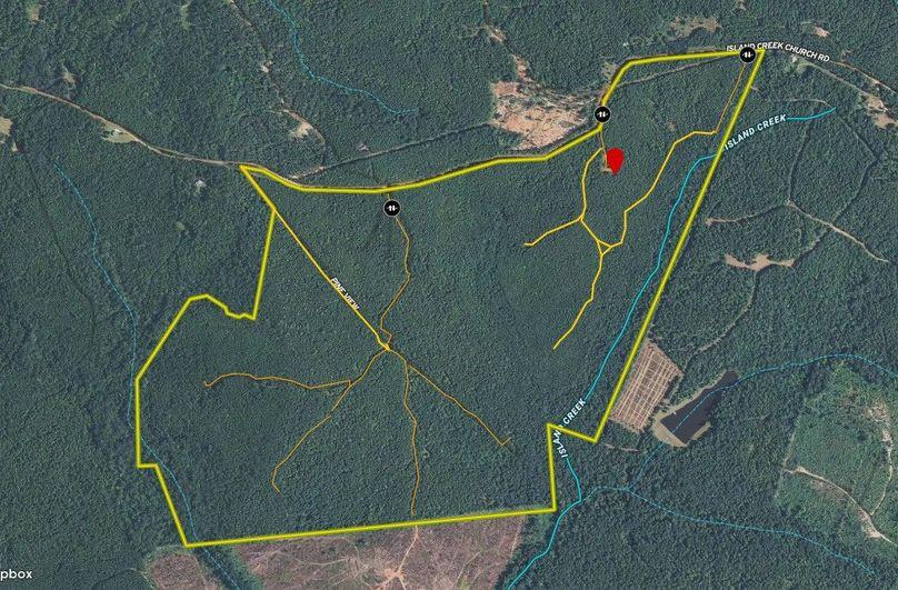Hancock county 333 acres map