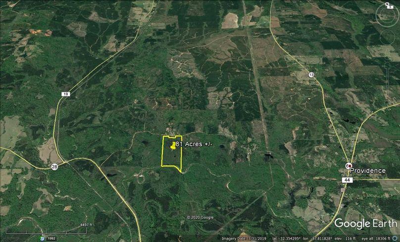 Aerial 6 approx. 81 acres marengo county, al