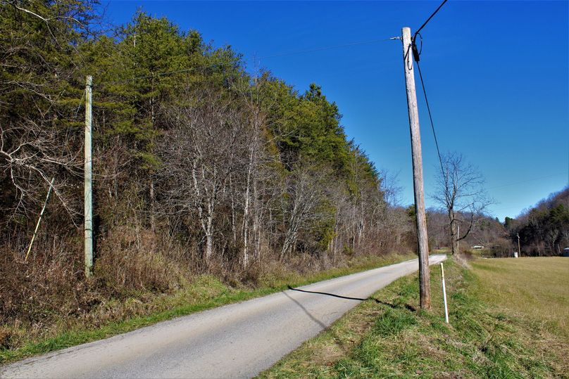 008 blacktop road access and electric at the property boundary