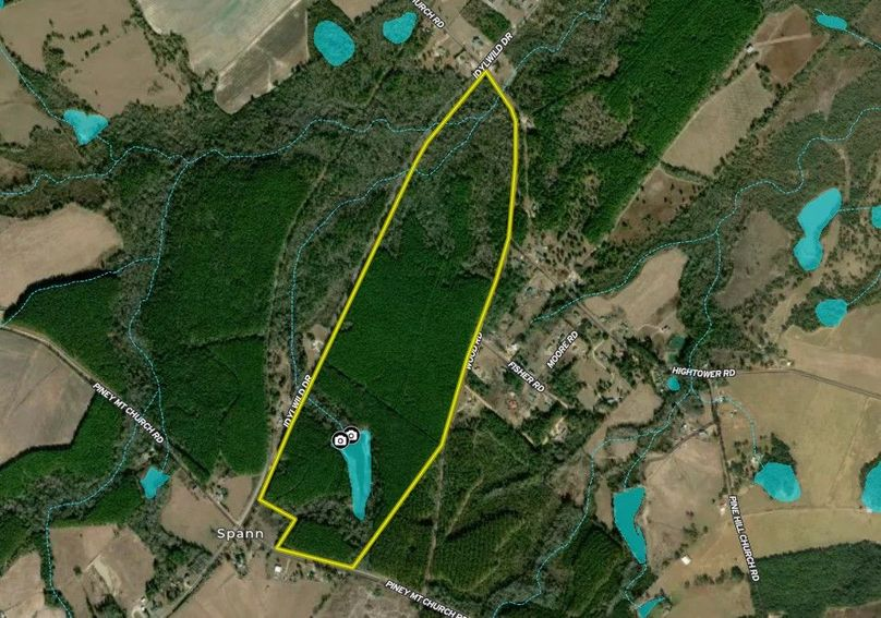 Johnson county 157 acres map