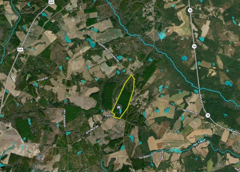 Johnson county 157 acres map1