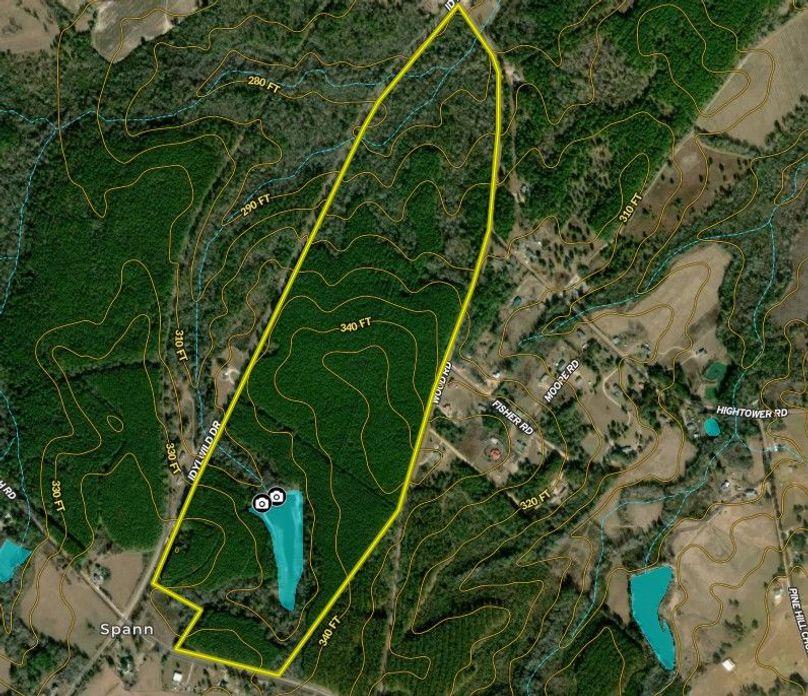 Johnson county 157 acres map3