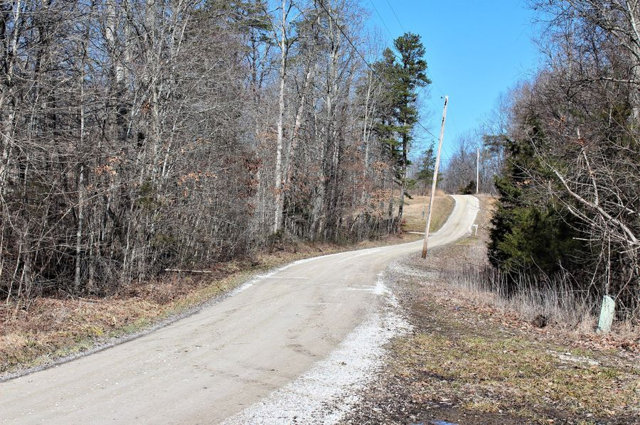 005 flinchum road, leading in and along the west boundary of the property