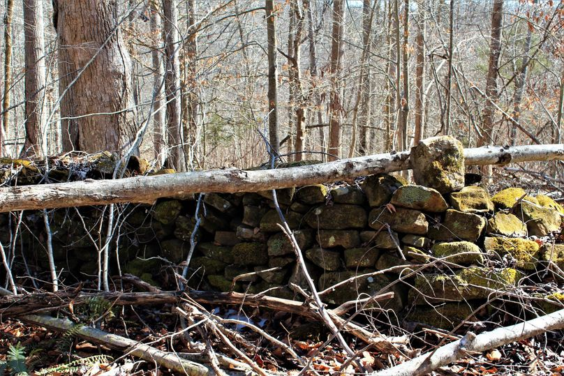 011 rock wall used as fencing many moons ago