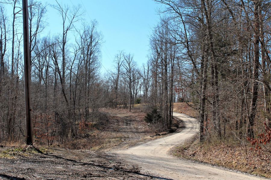 020 a section of the 1 4 mile gravel road frontage along the west boundary