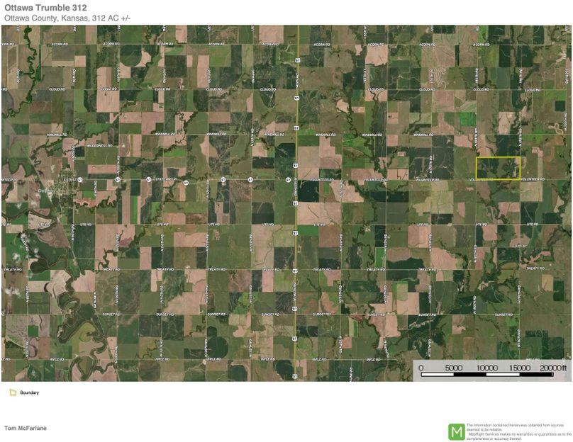 Ottawa trumble 312 map