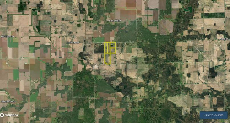 Frakes, far aerial