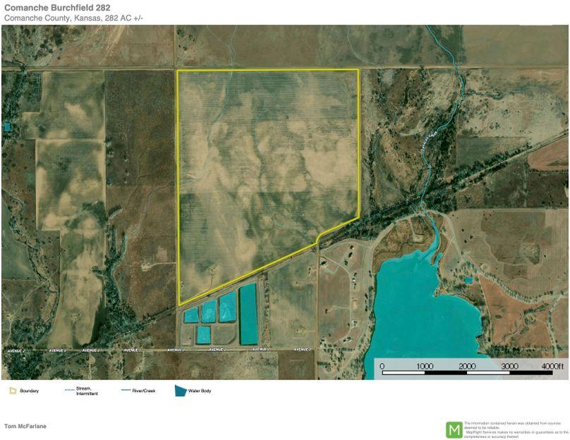Comanche burchfield 282 aerial in