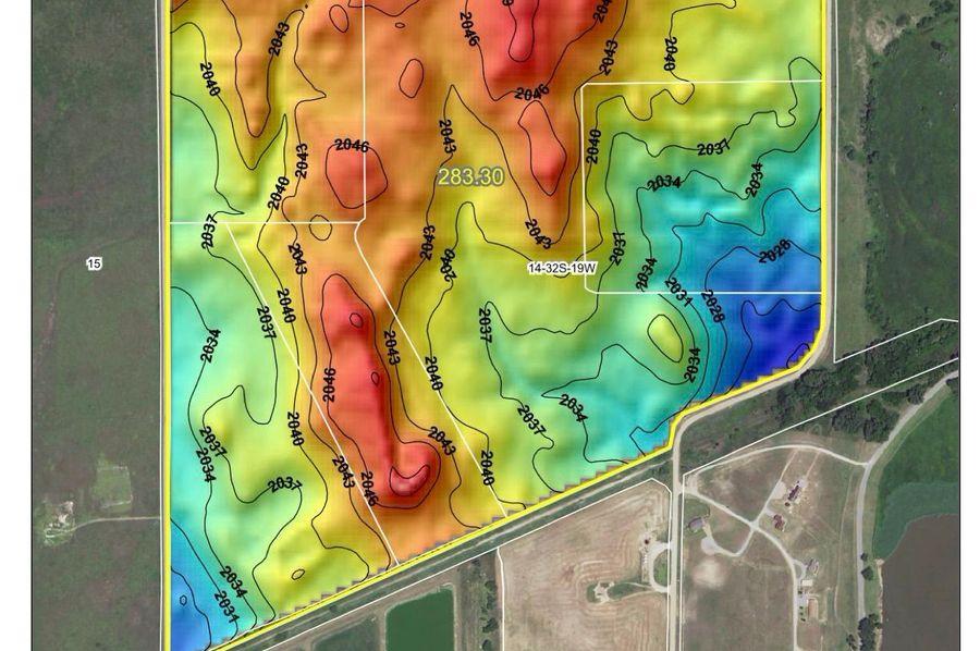 Comanche burchfield 282 hillshade