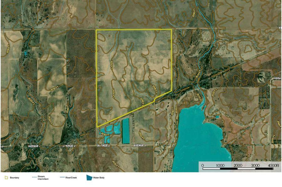 Comanche burchfield 282 topo