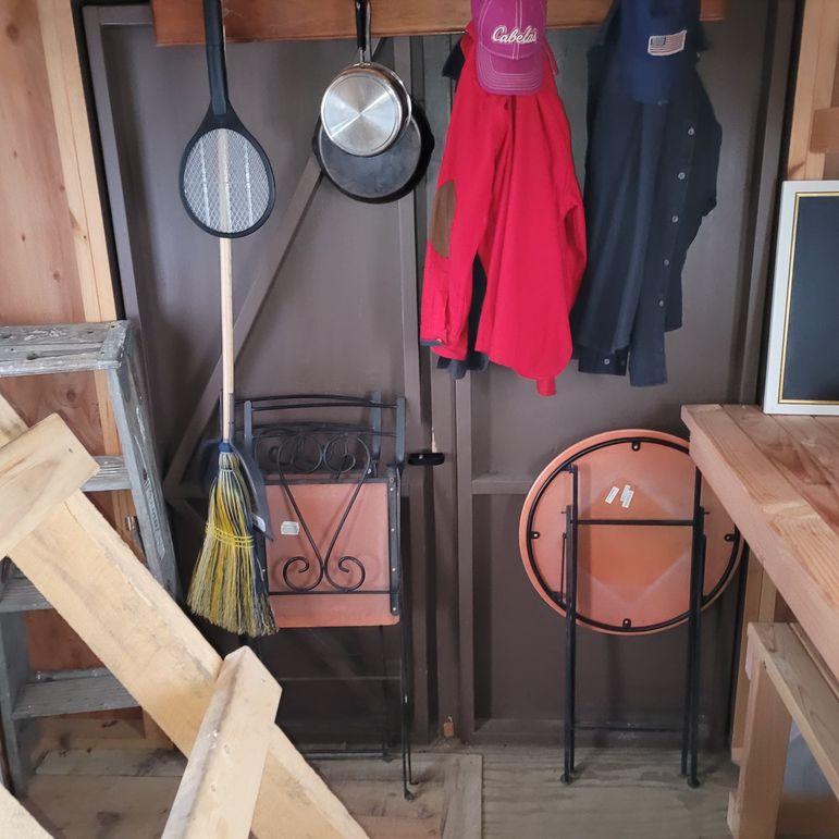 12 inside cabin