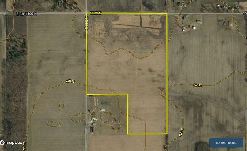 Porter co. 50 acres mr contour