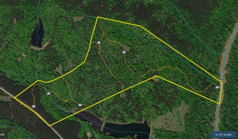 Oconee county 100 acres map1
