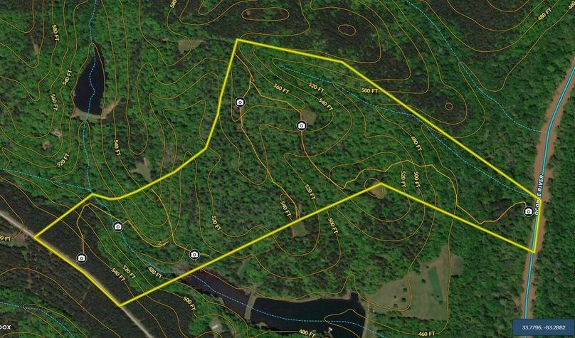 Oconee county 100 acres map2