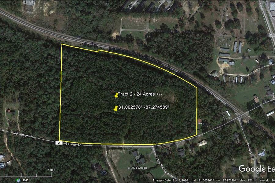 Tract 2 aerial 1 approx. 24 acres escambia, al