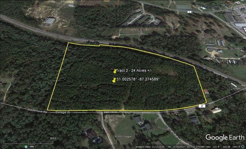 Tract 2 aerial 2 approx. 24 acres escambia, al