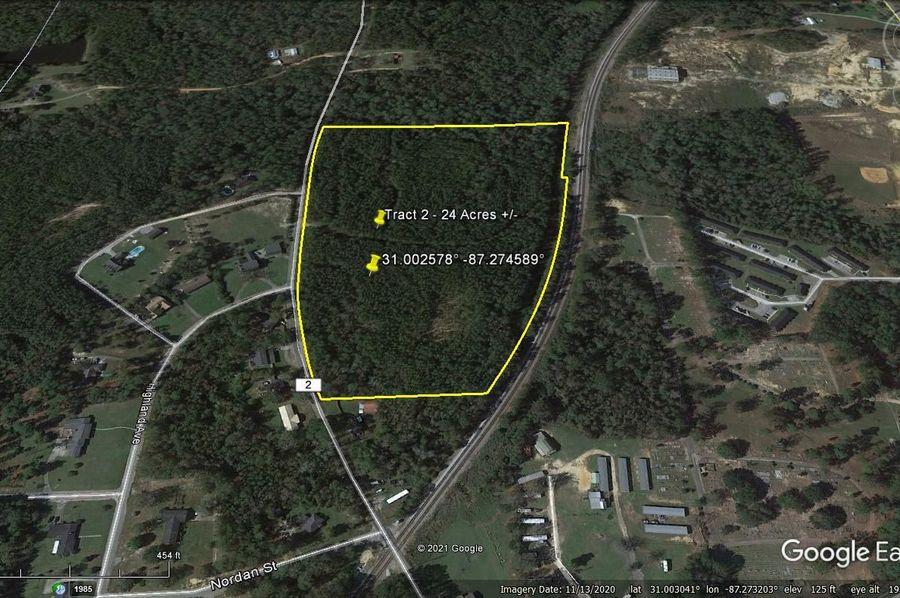 Tract 2 aerial 5 approx. 24 acres escambia, al