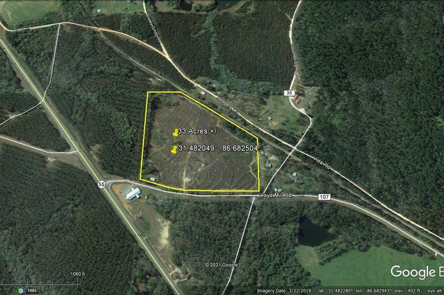 Aerial 4 approx. 33 acres covington county, al