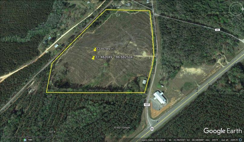 Aerial 5 approx. 33 acres covington county, al