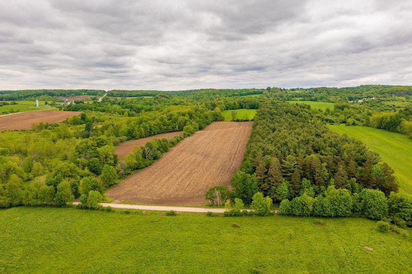 Collins farm land drone 1