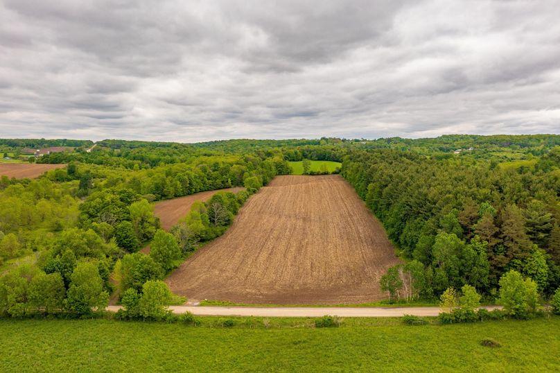 Collins farm land drone 2