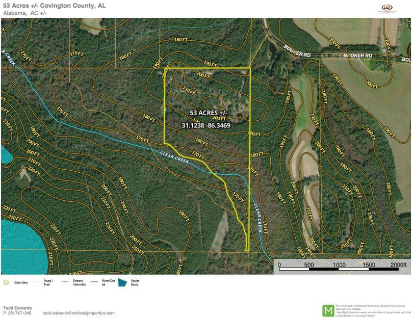 Aerial 1 approx. 53 acres covington county, al copy